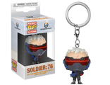 Брелок Funko Pocket POP! Keychain: Overwatch: Soldier 76