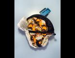 Теплая зимняя шапка-ушанка Lummie цвет Orange Rocket