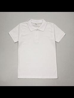 Рубашка-поло (белый) | арт.20017