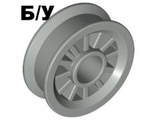 ! Б/У - Wheel Spoked 2 x 2 with Pin Hole, Light Gray (30155 / 4113250) - Б/У