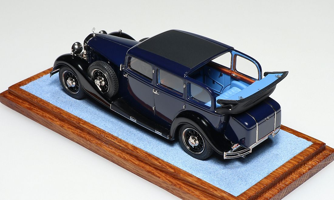 1935 Mercedes-Benz Typ 500 Nurburg Landaulet by Rama VIII, King of Siam. EMC for ER-models.
