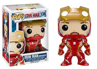 Funko Pop! Civil War: Iron Man (EXCLUSIVE)