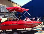 Тент-крыша на лодку - Биминитоп -комплект люкс