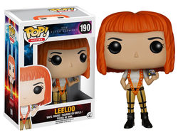 Funko POP! Movie: The Fifth Element - Leeloo № 190 damage - Фанко ПОП! Фильмы: Пятый Элемент - Лилу