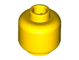 Minifigure, Head Plain - Hollow Stud, Yellow (3626c / 362624)