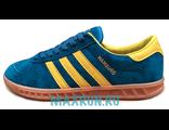 Кеды Adidas Hamburg синие