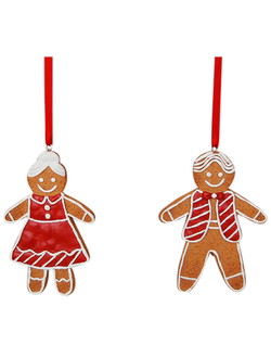 Елочная игрушка PENDANT CHILDREN X2 PANEPICE RED 7X1X10.1CM RESINарт.31408