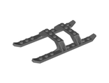 Helicopter Sled Rails 12 x 6, Dark Bluish Gray (30248 / 4255445 / 4546207)