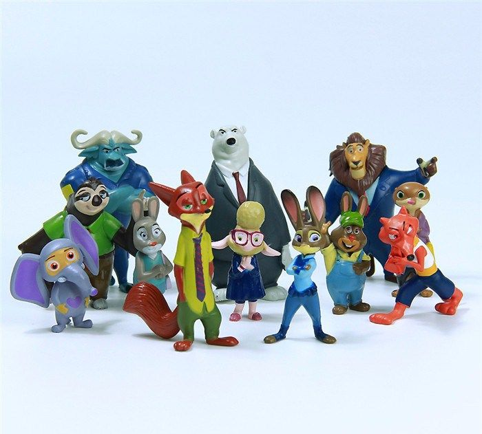 картинки зверополис игрушки