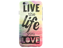Чехол Live the life you love для iPhone 6 Plus/6S Plus