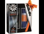 """Gillette Подарочный набор: бритвенный станок """"Fusion ProGlide"""", полотенце для спортзала"""