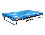 Двуспальная раскладушка с матрасом 100мм