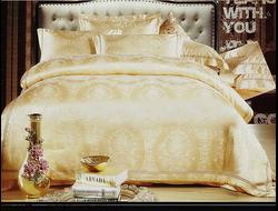 Артикул H027. Элитное постельное белье на 100% хлопковой основе с использованием шелковой нити,декорировано вышивкой
