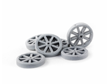 Wagon wheels (15mm)