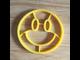 Силиконовая форма для яичницы смайлик желтый