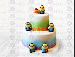 """Торт № 12 """"С миньонами"""" (Детские торты)"""