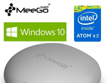 Meegopad T04. Windows 10 Мини ПК. 2 Гб / 32 Гб. Intel Cherry Trail Z8300 Quad Core. Всё в одном!