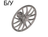 ! Б/У - Wheel Cover 7 Spoke V Shape - 36mm D., Flat Silver (58089 / 4501820) - Б/У