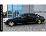 Various luxury elongated and armored limousines based on Mercedes-Benz S450/S560 4Matic, S600 and S600 V222 Guard VR9 (with integrated special protection from MB Guard), 2018-2019 YP