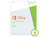 Microsoft Office 2013 PKC home and student 1 PC AAA-02889