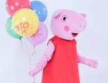 Аренда ростовой куклы костюма Свинка Пеппа