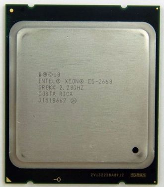 Процессор Intel Xeon E5-2660  v1 Sandy Bridge-EP (20M Cache, 2.20 GHz, 8.00 GT/s Intel QPI) , SR0KK ,oem