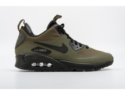 Nike Air Max 90 Sneakerboot Olive Мужские хаки (40-45)