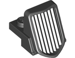 Vehicle, Grille 1 x 2 x 2 2/3 Sloping, Black (50946 / 4245120 / 6021604)