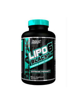 Lipo-6 Black Hers (120 капсул)