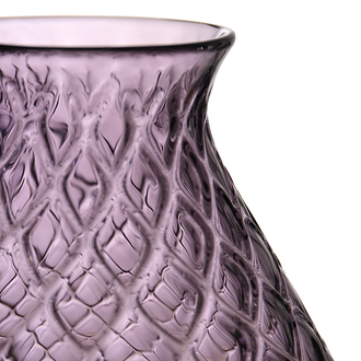 Ваза VASE DRAGO PURPLE D23XH27.5CM GLASS 29933