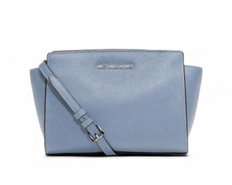 Сумка Michael Kors Selma Mini Messenger Blue / Голубая 2