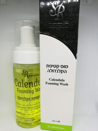 SR cosmetics Calendula foaming wash 150 ml
