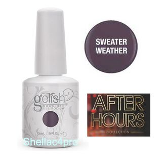 Gelish Harmony, цвет № 01004 Sweater Weather - After Hours winter Collection 2015 -2016