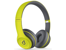 Beats Solo 2 Wireless  Shock Yellow (Беспроводные)