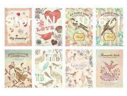 "Наклейки ""Lovely Stamps. Natural"""