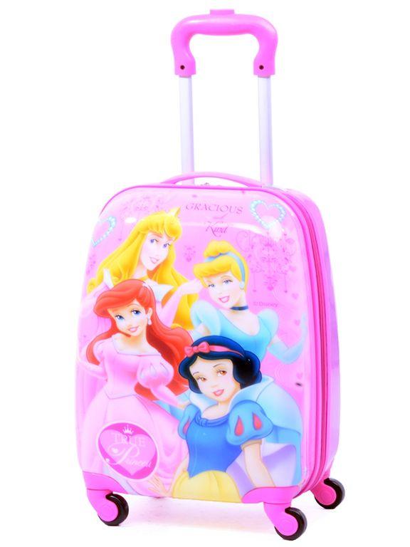 317bad544ab4 Детский чемодан на 4 колесах Принцессы Дисней / Disney Princess (Четыре 4  принцессы)