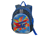 Детский рюкзак для мальчика 3D STELZ самолет