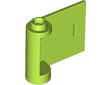 Door 1 x 3 x 2 Right - Open Between Top and Bottom Hinge (New Type), Lime (92263 / 6146893)