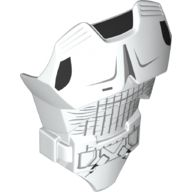 Large Figure Torso with SW Scout Trooper Armor Pattern, White (21561pb12 / 6178890)