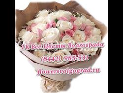 Букет роз Розовый вечер