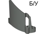 ! Б/У - Technic, Panel Fairing #22 Large Short, Small Hole, Side A, Dark Bluish Gray (44352 / 4210973) - Б/У