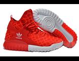 Кроссовки Adidas Tubular красные