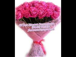 31 розовая роза Аква