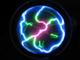 плазма диск, плазменный, молнии, laser plate, plasma disk, Lumin disc, с молниями, светящийся, ledпл