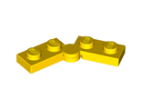 Hinge Plate 1 x 4 Swivel Top / Base Complete Assembly, Yellow (2429c01 / 4205196 / 6102768)