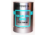 "Toyota ""Gear Oil Super"" 75W90 GL-5 1л Япония"