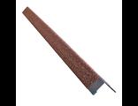 Металлический уголок внешний HAUBERK Терракотовый (50х50х1250мм)