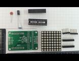 Светодиодный матричный дисплей 8*8 точек