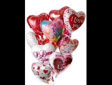 Воздушные шарики из фольги