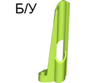 ! Б/У - Technic, Panel Fairing # 8 Small Long, Large Hole, Side B, Lime (32535 / 4263106) - Б/У